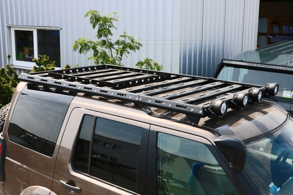 CargoBear modular roof rack for Land Rover Discovery 3 + 4  MY2003-2017