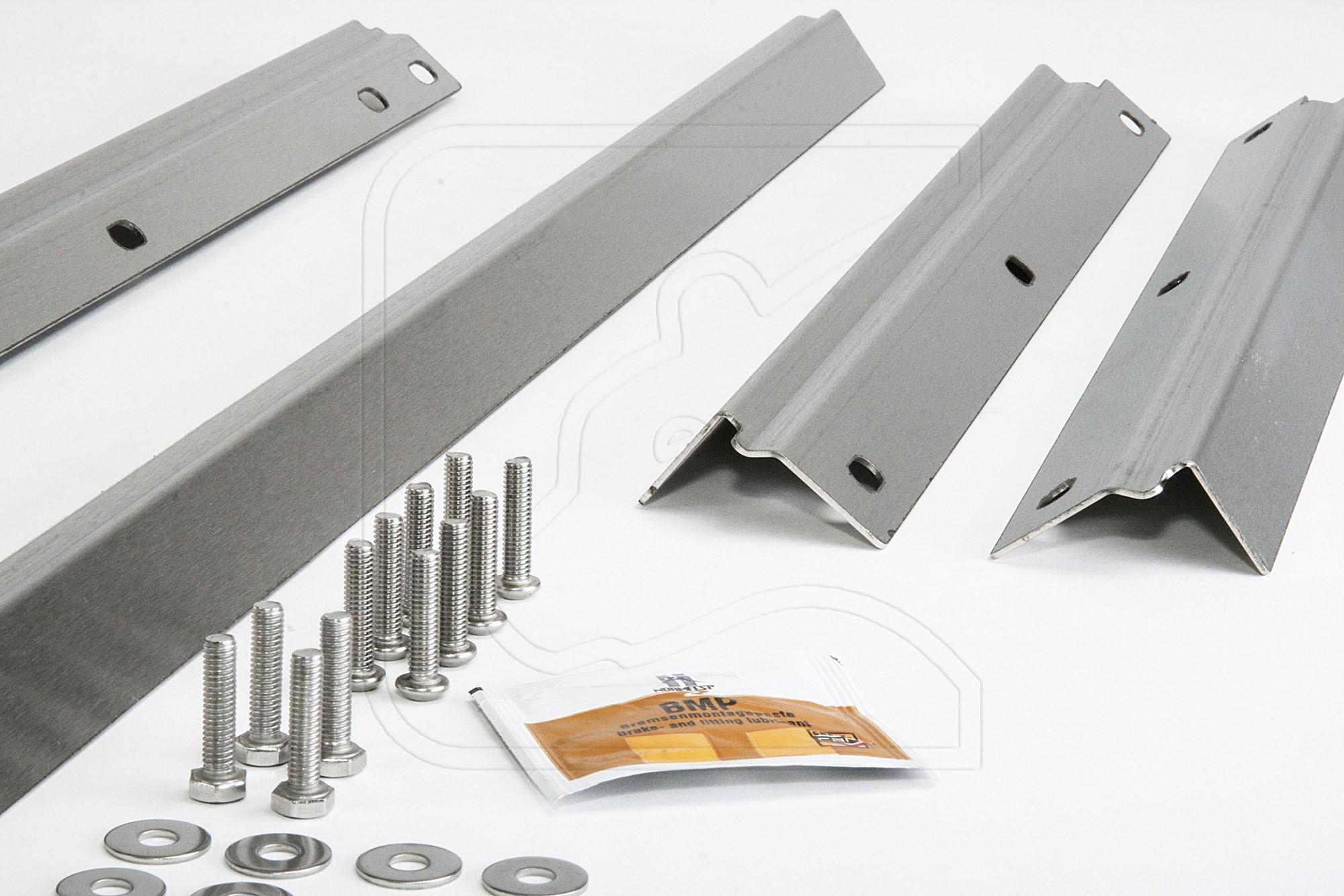 Stainless Steel Door Sills for Defender 110 / 130