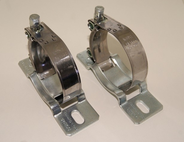 2 x Bracket for gear pump 150l/h
