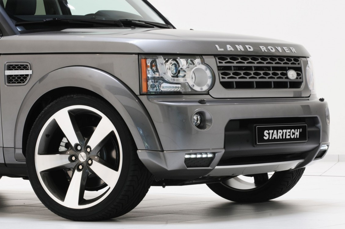 "Startech front Skirt attachment element, incl. LED daytime running lights ""Black Line"", Discovery 4"