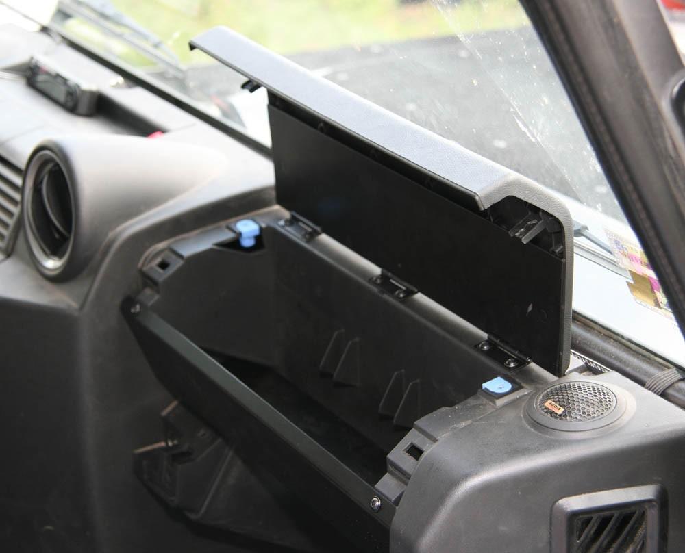 Add-on glove box kit for Defender TD4
