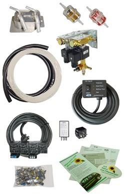 To 75 kw / 100 HP, Diesel to Vegetable Oil Conversion, SVO / WVO - kit,12v / 24v, ATG