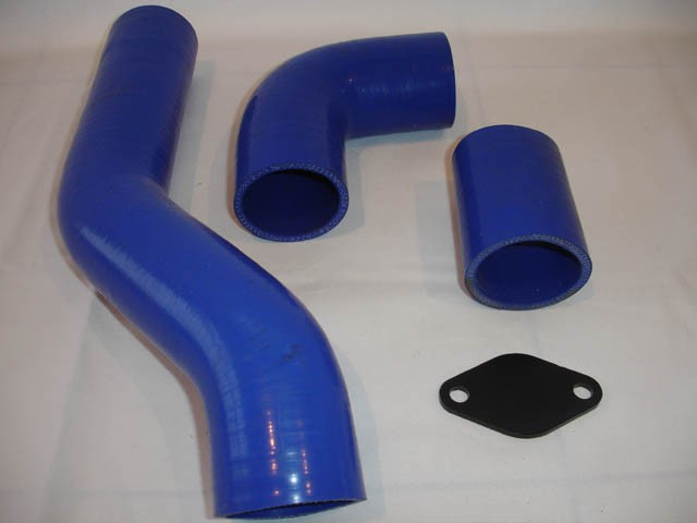 Silicone hose kit and EGR blank plate for Defender 300 Tdi