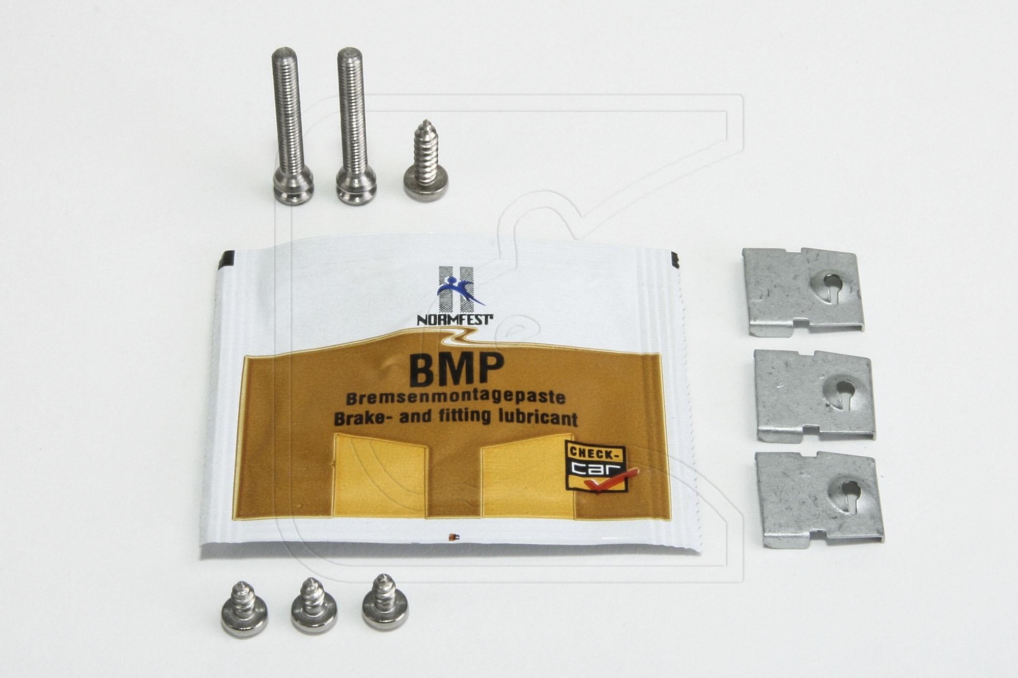 Headlight mounting kit stainless steel for Land Rover Defender