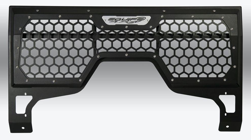 High frame honeycomb front grille for Land Rover Defender