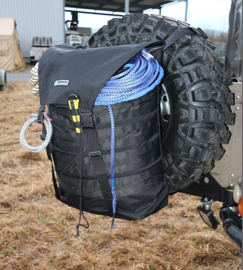 Spare wheel rucksack/backpack/transport bag large 80l Nakatanenga