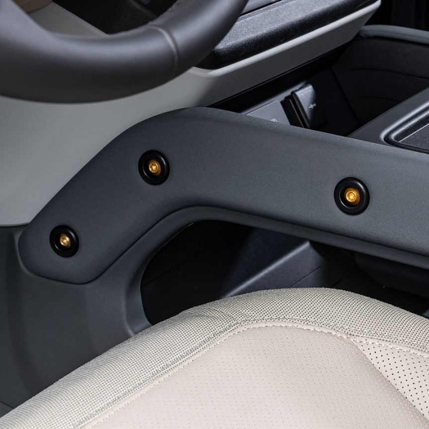 Refined washers for centre console for New Defender 2020