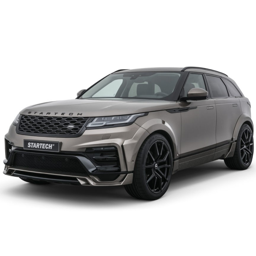STARTECH widebody kit, PUR R-RIM, 14 piece, for Range Rover Velar, only in combination with Startech front bumper