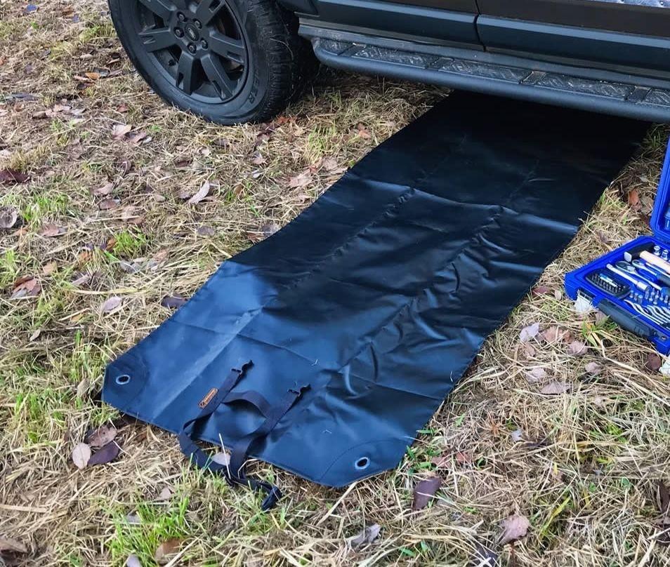 Mechanic Tarp UNIVERSAL, high quality 195 x 75 cm Nakatanenga