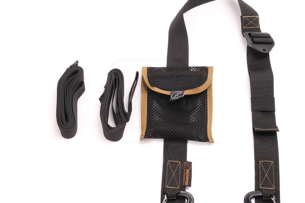 Nakatanenga shoulder strap and recovery straps for recovery tracks