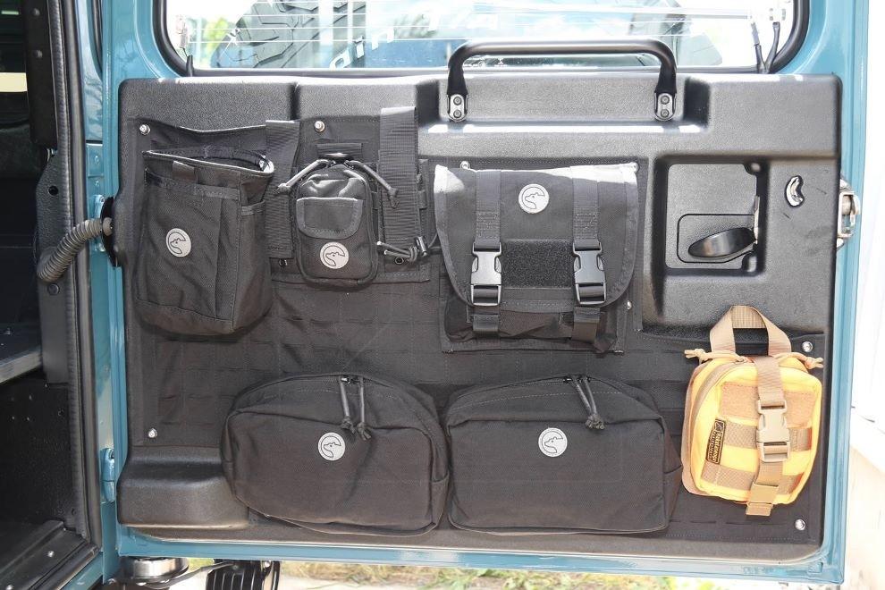 Tailgate Organizer for Land Rover Defender