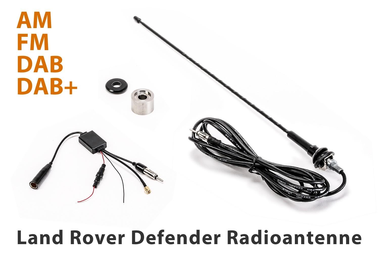 Land Rover Defender antenna AM/FM/DAB/DAB+