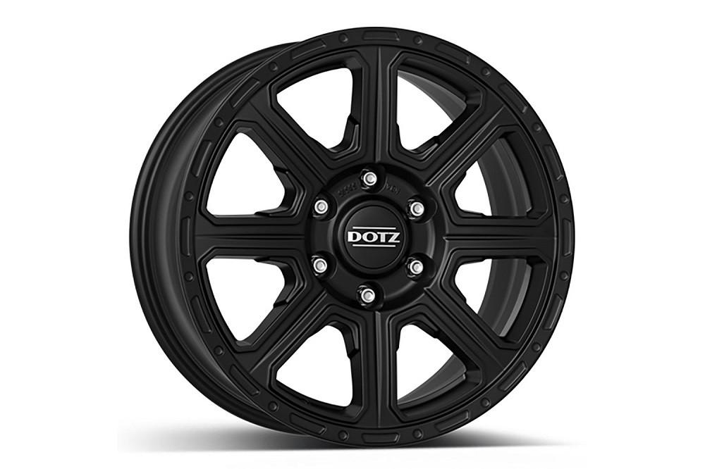 "Dotz Kalahari 8x18"" alloy wheel / rim for New Defender, from MY 2020 black"