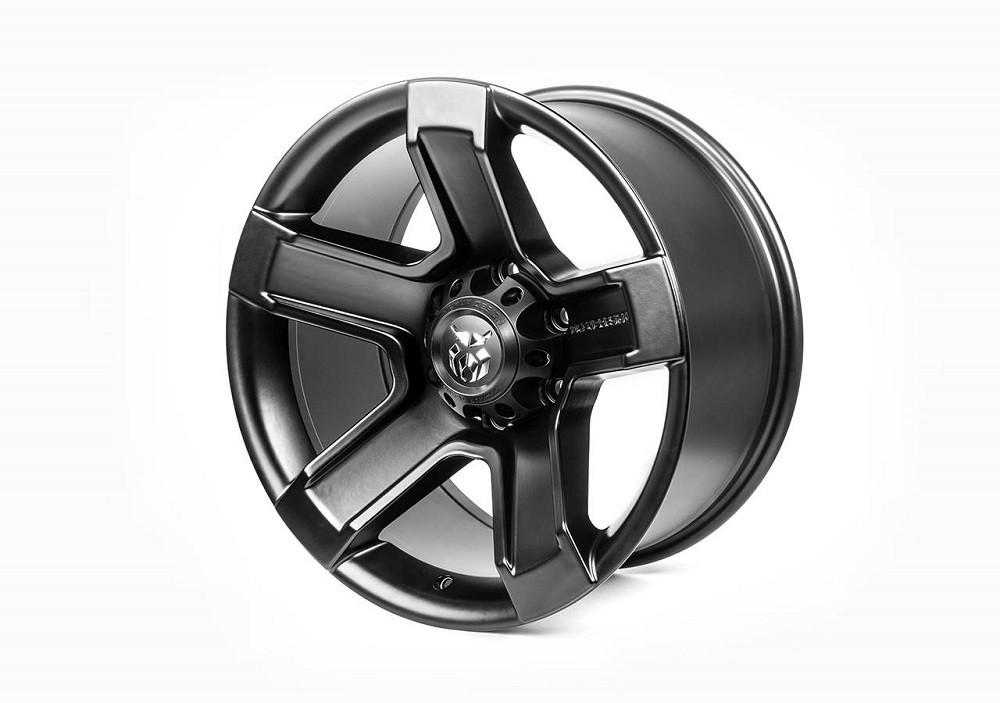 "Carlex Design Pickup Design 18"" alloy wheel / rim black for Mercedes X-Class"