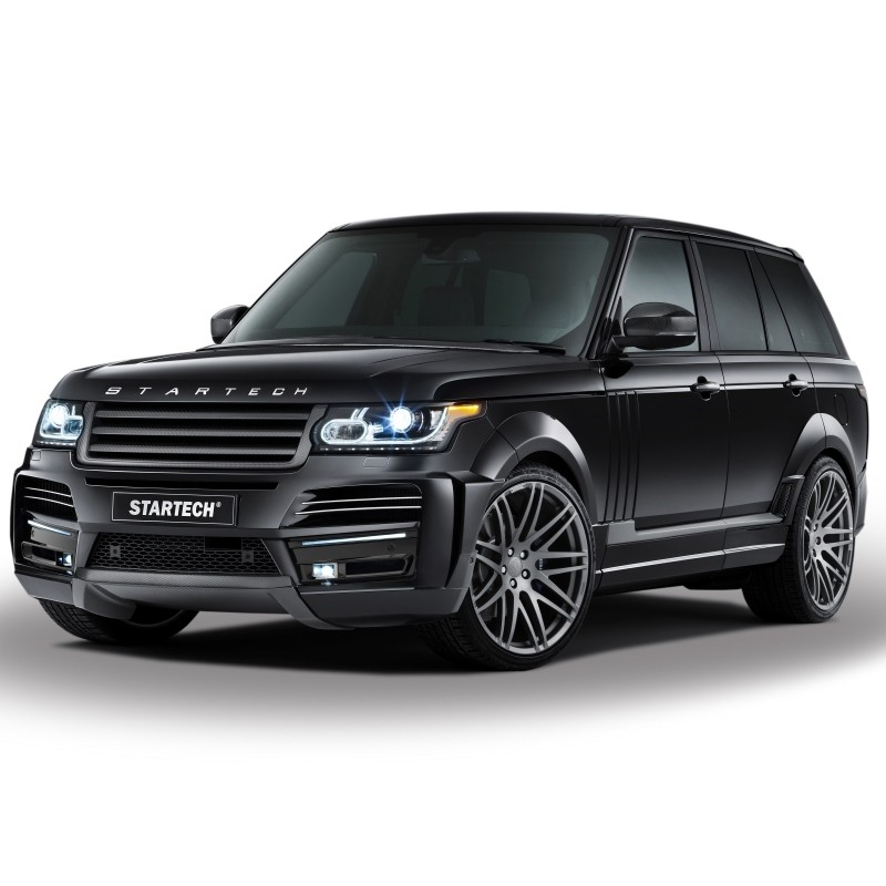 STARTECH Wide-body kit, PUR R-RIM, only in combination with front and rear bumper for Range Rover from 2013
