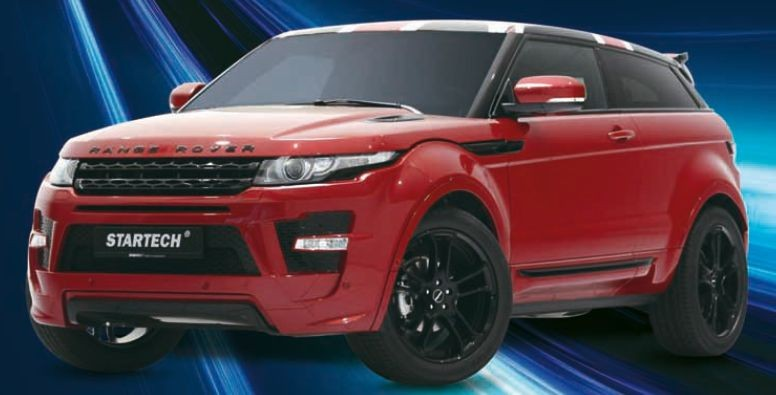 Sport springs set, lowering approx. 30mm, for Range Rover Evoque