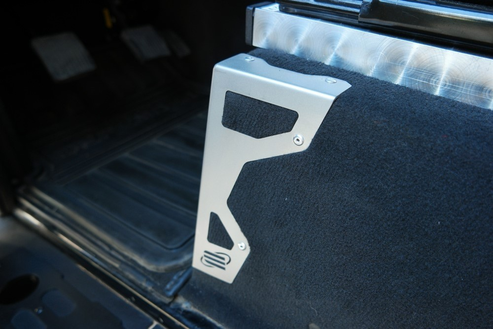 New Range Rover >> 4x4 Outdoor Tuning :: Seat box corner protectors stainless steel black or silver for Land Rover ...