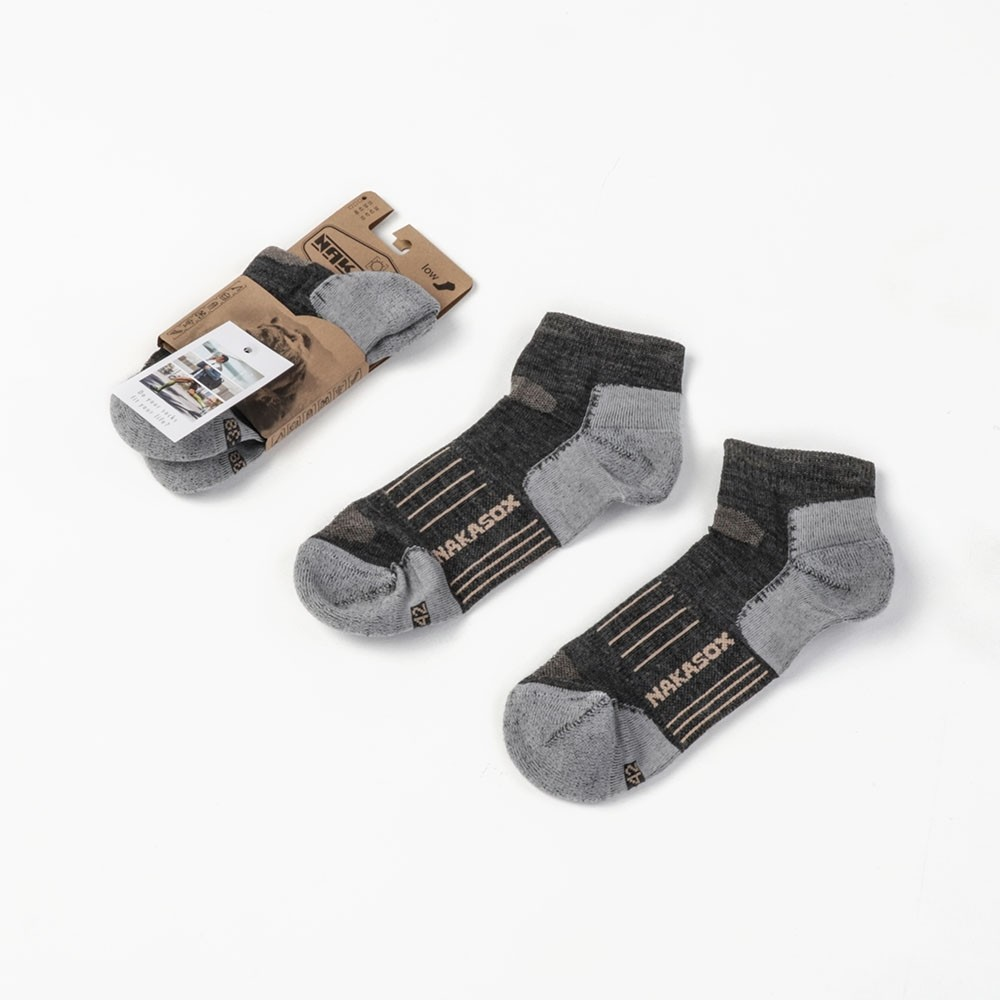 Nakatanenga Merino Summer socks low cut
