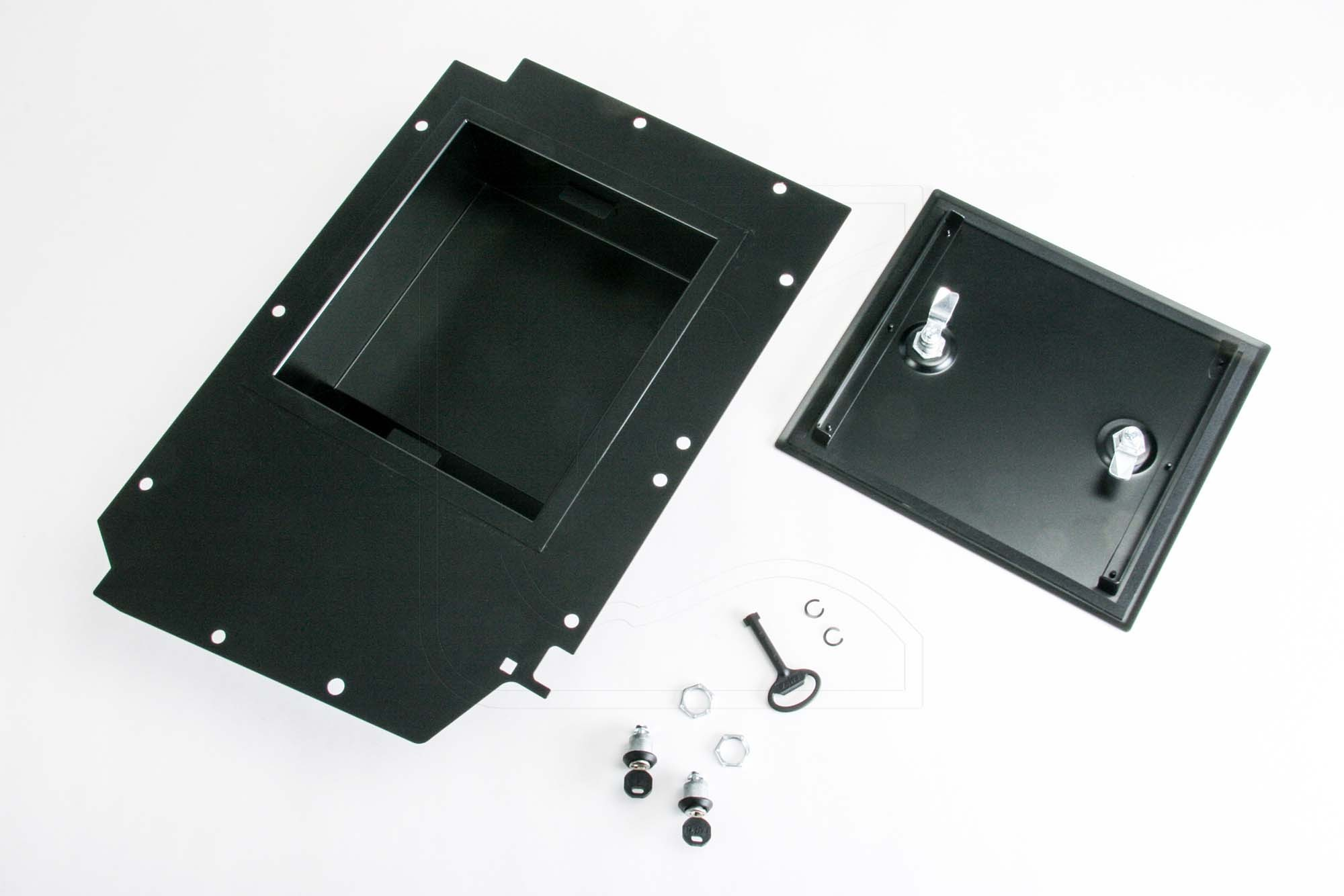 Footwell storage box Land Rover Defender TD4 from 2007