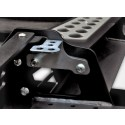 External bracket for additional light for modular bumper