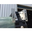 CargoBear awning brackets silver or black