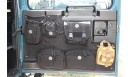 Tailgate display of pocket system