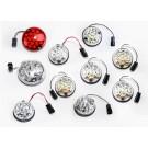 LED light set of 8 to 12 lights in WHITE or ORIGINAL colour for Land Rover Defender