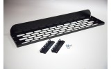 Abenteuer4x4 - Sky roof shelf aluminium black for Land Rover Defender