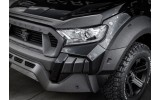 Carlex Design Bonnet lip - Ford Ranger
