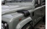 RHD - left side Nakatanenga Military Snow Cover, stainless steel silver or black for Land Rover Defender