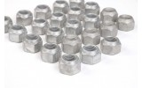 Wheel nuts for steel rims 23er set galvanized New Defender