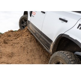 Rock sliders with tube for New Defender 110