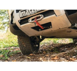 Front underbody guard for New Defender 110 with built-in winch 4,300 kg