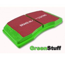 EBC Greenstuff 6000 - High Performance brake pads for Land Rover Defender - front axle