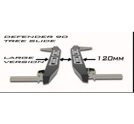 """Tree sliders for Defender 90 """" Large Version """" 120mm wide"""
