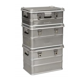 AluBox Pro Aluminium storage box 42 Litre