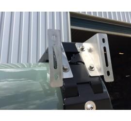 CargoBear awning brackets silver or black