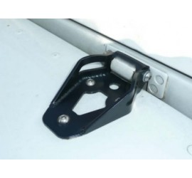 EQUIPE bonnet hinges for Defender Tdi, Td5, Td4, steel powder coated