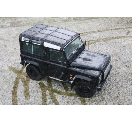 CargoBear modular roof rack with tilted front perfect for Land Rover Defender 90 - 2075mm