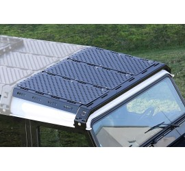 CargoBear roof rack tilted front extension 875mm, for Land Rover Defender