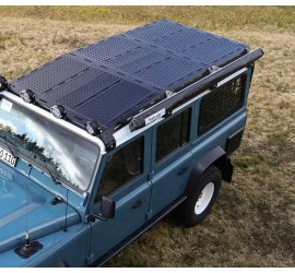 NEW CargoBear 2.0 HiGrip plate modular roof rack with tilted front for Land Rover Defender 110 - long 2765mm