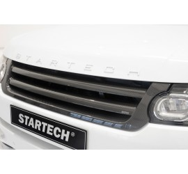 STARTECH Carbon grille, high-gloss finish for Range Rover Sport from 2014