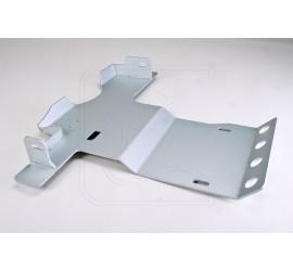 Transmission guard 6 mm aluminium for Land Rover Defender Td4, 90/110/130