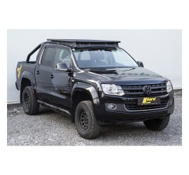 horntools Roof Rack NAVIS VW Amarok dual cab, Alu with or without railings