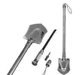 horntools Versatile survival shovel all-purpose