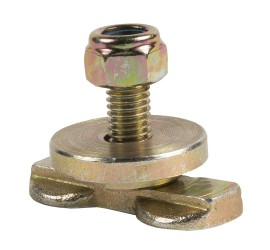 Fitting with setscrew / threaded pin M8 for Airline rails