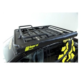 horntools Roof Rack NAVIS Ford Ranger, flat, Alu with or without railings