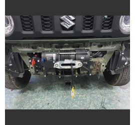 horntools Front winch system 2 ton, 12 V for Suzuki Jimny 2 GJ