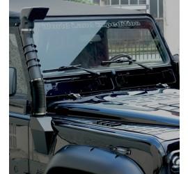 Equipe Snorkel - Standard version or Roll Cage mount version for Land Rover Defender