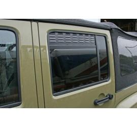 Rear Door Air Vents for Jeep Wrangler unlimited JK, Jeep Patriot MK 2007-2017
